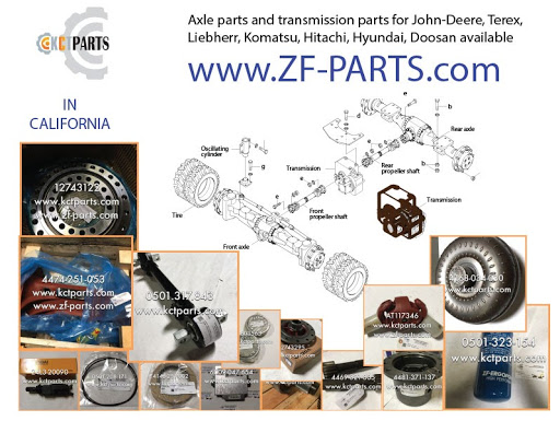 Zf Differential Parts