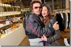 Olivier Zahm and Stephanie Hirschmiller