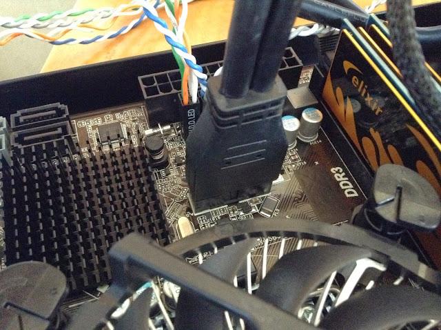 初めての自作PC組み立て編②