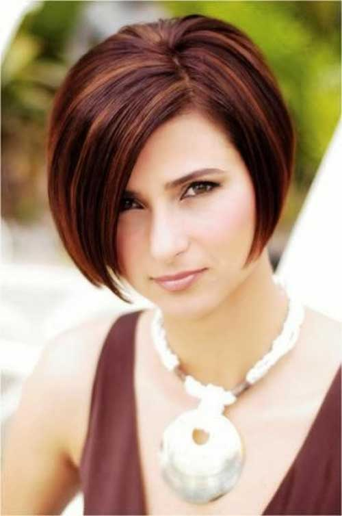 15 Best Hairstyles for Thick Hair | Stacked bob hairstyles, Short ...