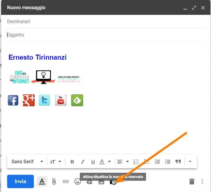 modalità-riservata-gmail