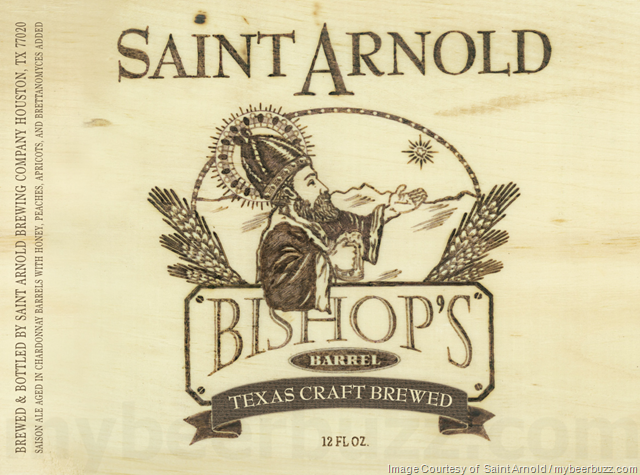 Saint Arnold Adding Bishop's Barrel 23 Saison