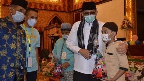 Hadiri 'Yatim Fest 2021', Wako Hendri Septa Motivasi Ratusan Anak Yatim di Padang