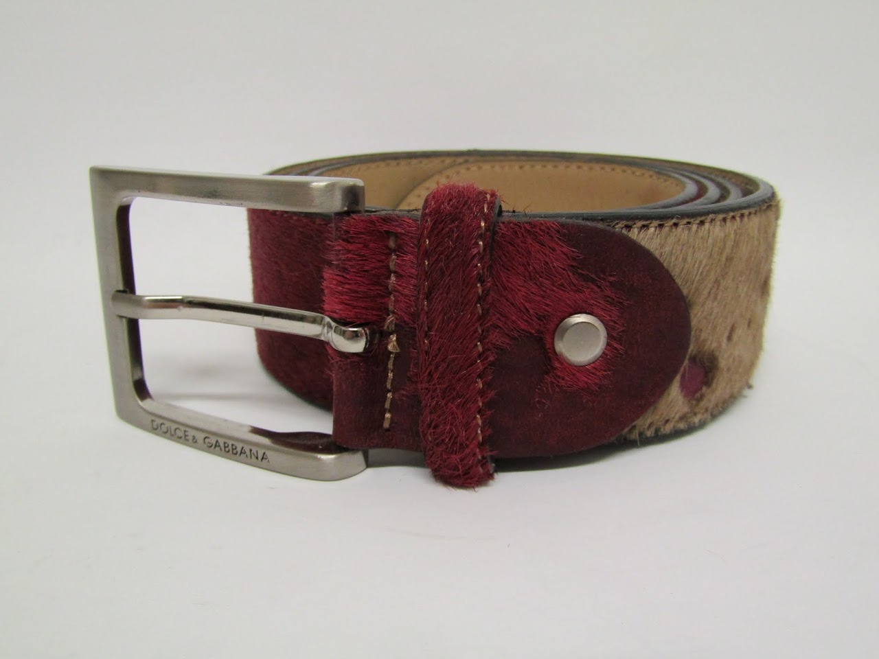 Dolce & Gabbana Hide Belt