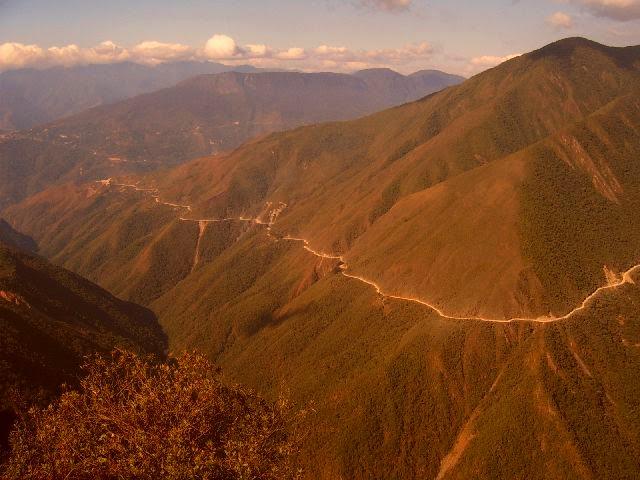 Imágenes de la Carretera de la Muerte, La Paz