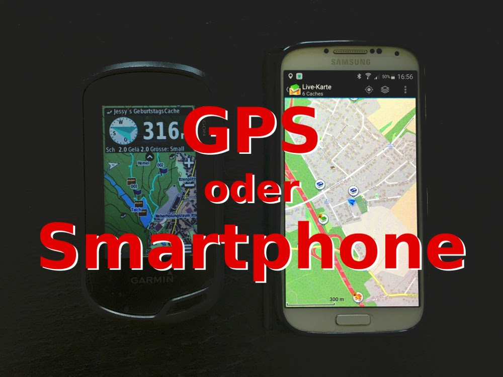 Gps Oder Smartphone Zum Geocaching Saarfuchs On Tour