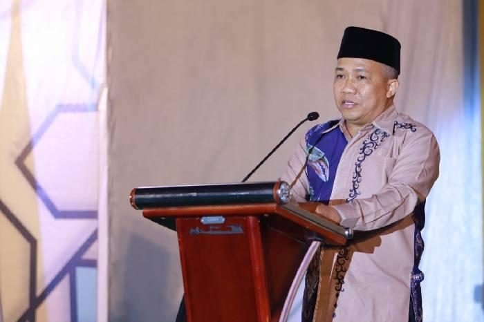 Bupati Sudian Noor meminta para peserta MTQ tingkat kabupaten yang akan berlaga, bisa membumikan Alquran dalam kehidupan sehari-hari.