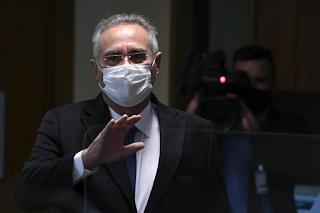 Renan abandona CPI da Covid durante depoimento de médicos defensores da cloroquina