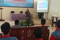 Danramil 18/Pandaan Kodim 0819/Pasuruan Menghadiri Pembukaan Calon Migran Indonesia