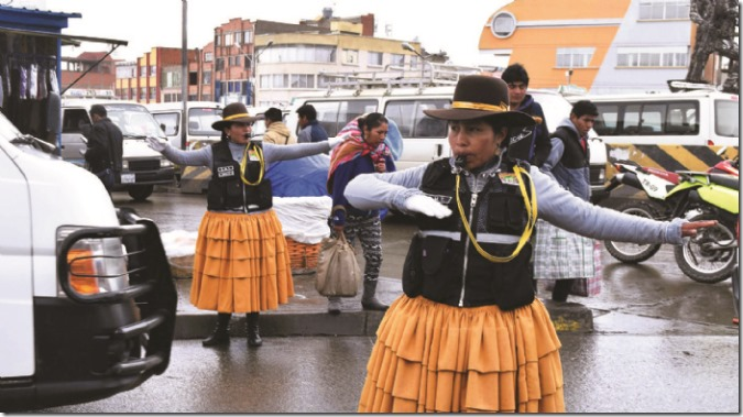 Cholitas alteñas