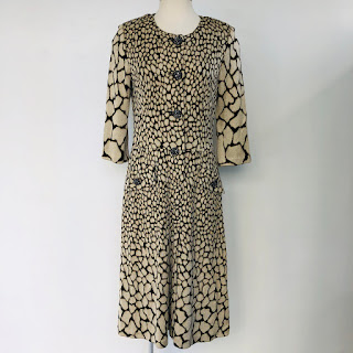 St. John Lamé Knit Dress