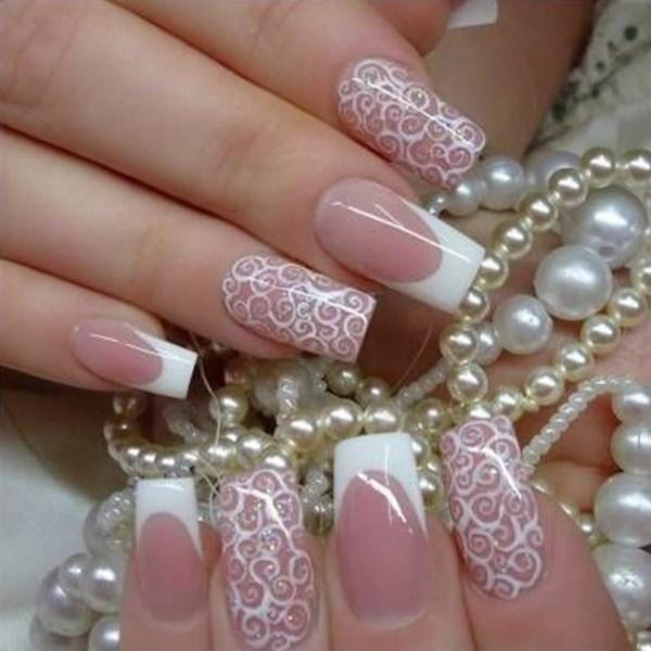 Wedding Nail Art Ideas Designs