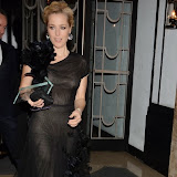 WWW.ENTSIMAGES.COM -       Gillian Anderson    at          Harper's Bazaar Women of the Year Awards at Claridge's, Brook Street, London November 5th 2013                                        Photo Mobis Photos/OIC 0203 174 1069