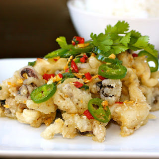 Chinese Salt and Pepper Squid.