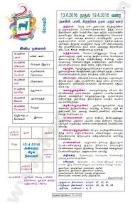 Kumudam Jothidam Raasi Palan - 13-4-2016 to 19-4-2016