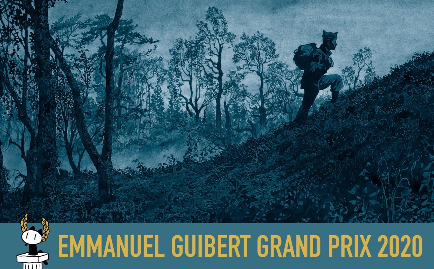 Emmanuel Guibert récompensé par le Grand Prix du festival bd d'Angoulême 2020