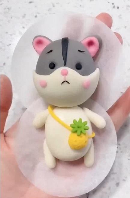 Pastry Art Bear