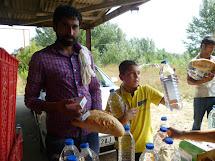 Cesta uprchlíků Makedonií a Srbskem
