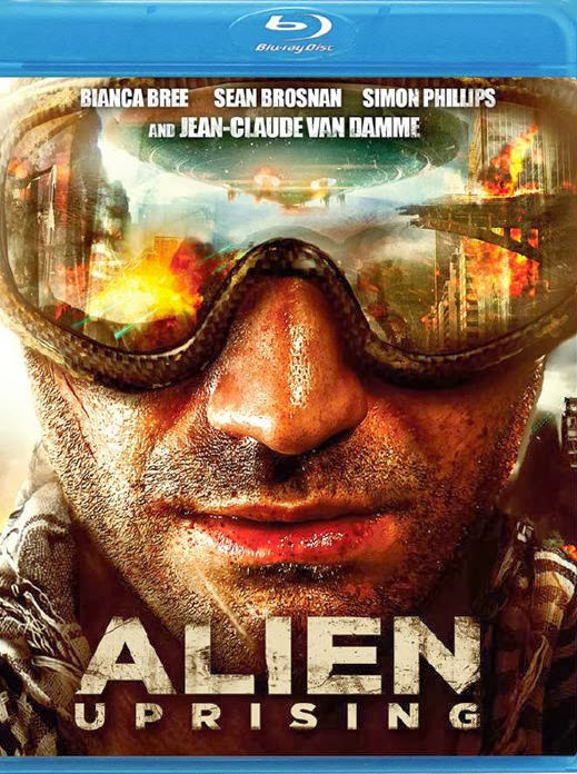 Filme Poster Alien Uprising BRRip XviD & RMVB Legendado