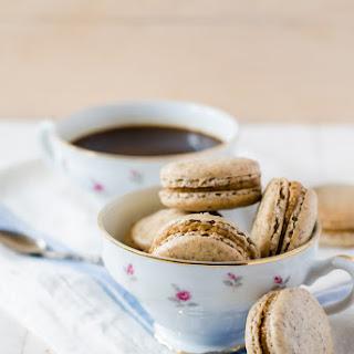 Coffee Cardamom Macarons