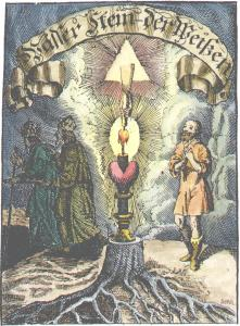 From Siebmacher Wasserstein Der Weysen 1704, Alchemical And Hermetic Emblems 1
