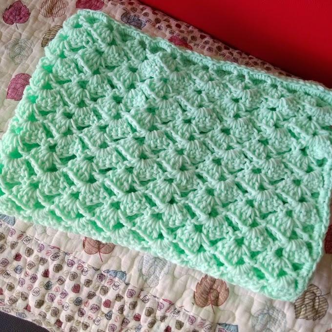 Hollow Baby Blanket Crochet