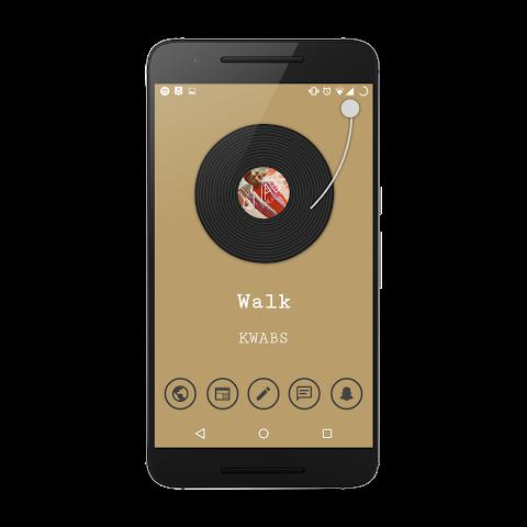 android Vinyl Komponent Screenshot 1