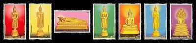 Buddhist Religious Days In Thailand Image