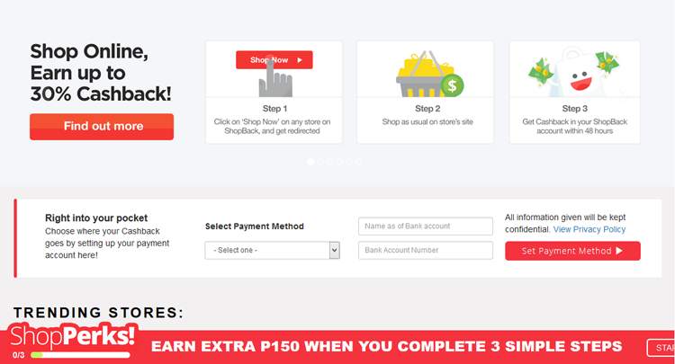 Shopback Philippines : Shop Online and Get a Cashback