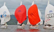 J/24 sailing Argentina's Lago San Rogue- Cordoba