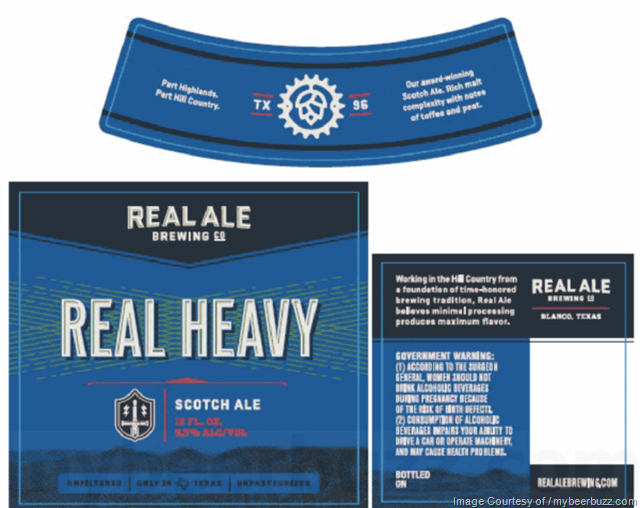 Real Ale Brewing Real Heavy