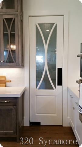 modern pantry door