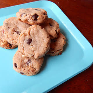 Peanut Butter Bacon Chocolate Chip Cookies.