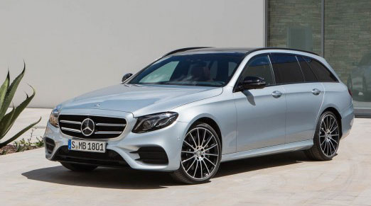 2017 Mercedes' E-Class Wagon use 7-seater