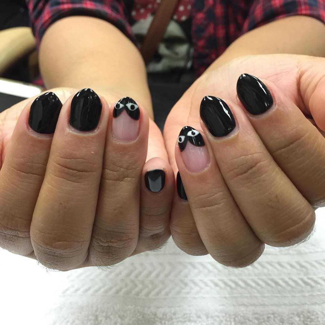 short stiletto nail art trends 2016 - style you 7