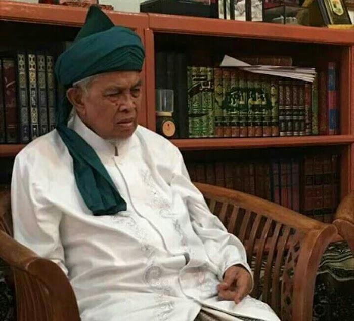 Innalillahi, Telah Wafat KH. Q. Ahmad Sahid Ponpes al-Falah