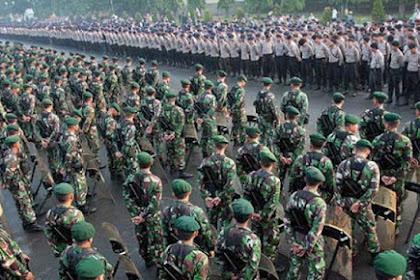Demo 4 November Akan Dikawal 7.000 Personel Gabungan TNI Dan Polri