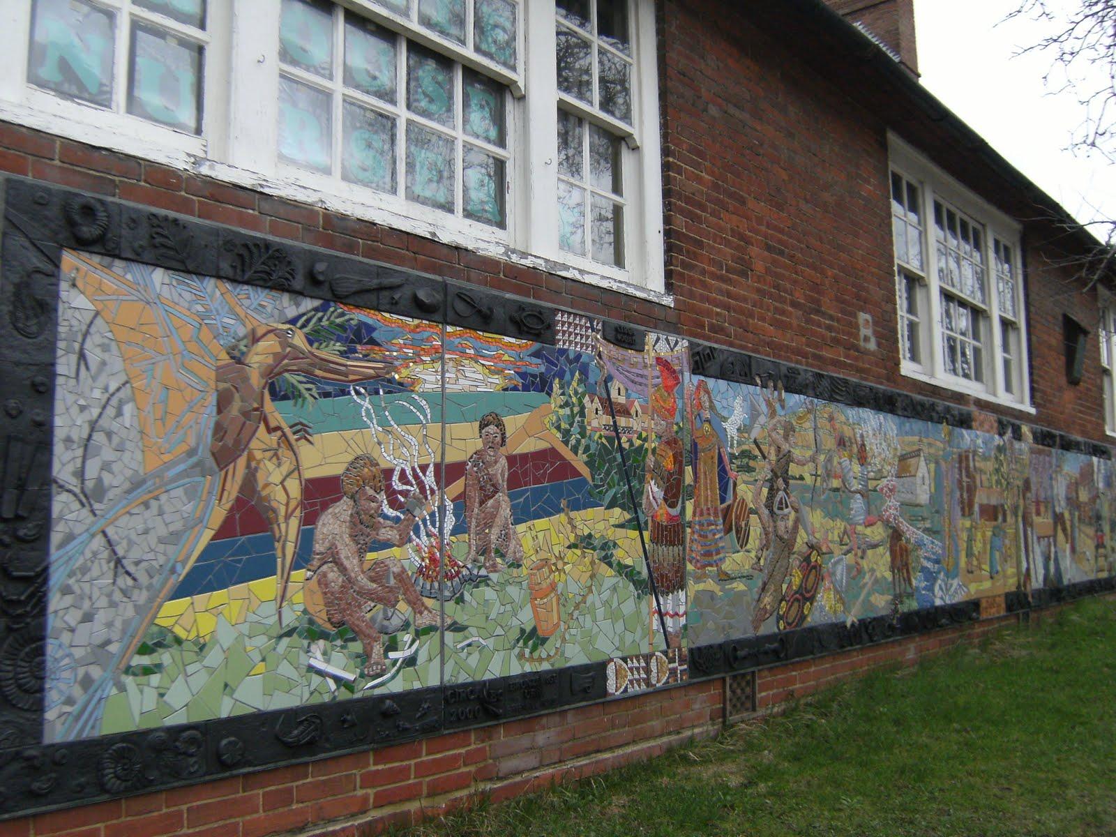 1102050022 Millennium mural, Otford