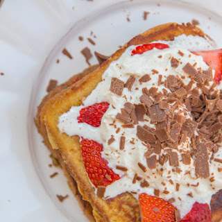 Nutella Strawberry French Toast
