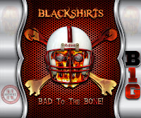 Blackshirts Bad To The Bone Heavy Metal Android Wallpaper
