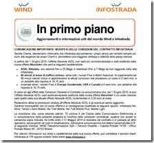Comunicazione importante WIND Infostrada