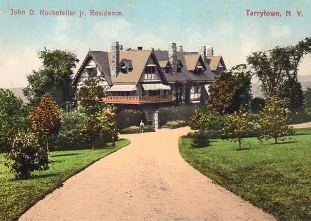 The Gilded Age Era The John Rockefeller Estate