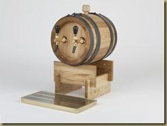 BOTICELLA итальянская пивная колонна на 2 сорта в виде бочки