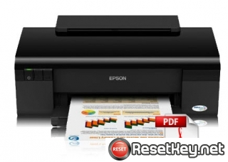 Reset Epson C120 Waste Ink Counter overflow problem