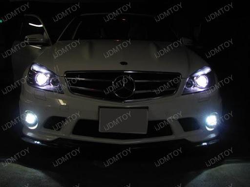 W204 Eyelid LED on 2009 Mercedes Benz C63 AMG | iJDMTOY Blog