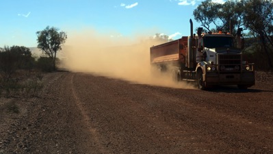 Road Train Dust