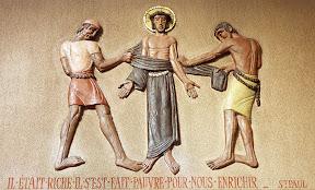 Xème Station : Jésus est dépouillé de ses vêtements