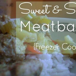 Sweet & Sour Meatballs {Freezer Cooking}