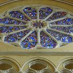 Eglise Saint-Etienne : rose du chevet (13 e s.)