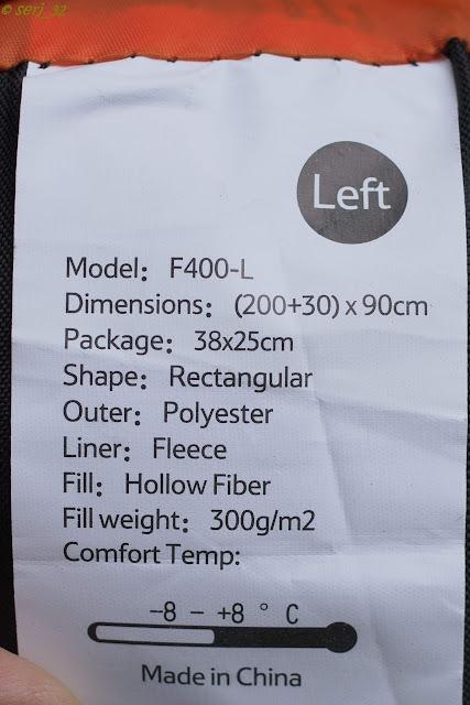 DealExtreme: Спальник NatureHike F400